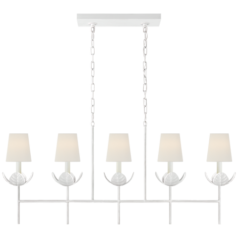 Illana Large Linear Chandelier by Julie Neill