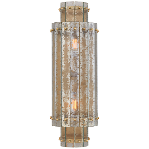 Cadence Large Tiered Sconce by Carrier and Company