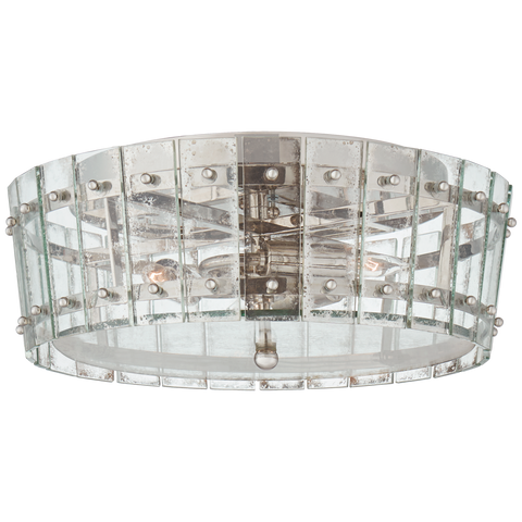 Cadence Medium Single-Tier Flush Mount by Carrier and Company
