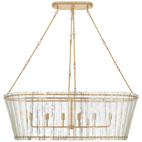 Cadence Grande Linear Chandelier by Carrier and Company