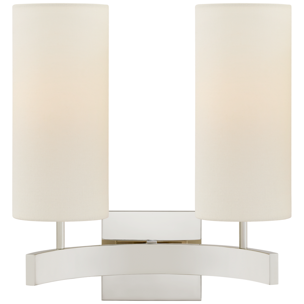 Aimee Double Sconce by Suzanne Kasler