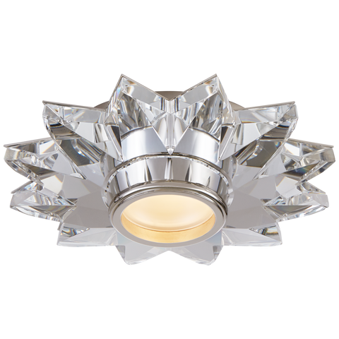 "Elora 7.25"" Solitaire Flush Mount by J. Randall Powers"