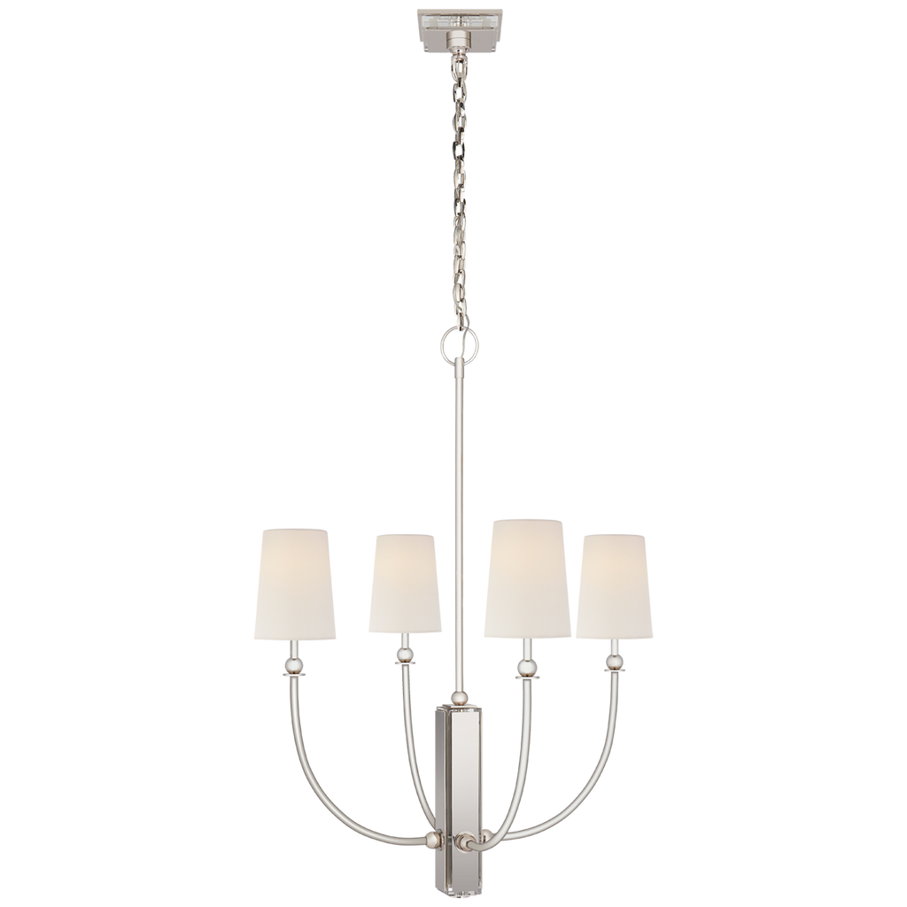 Hulton Medium Chandelier by Thomas O'Brien