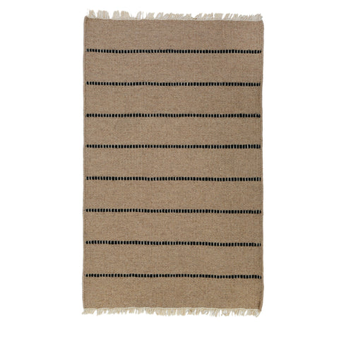 Warby Handwoven Rug in Natural in multiple sizes by Pom Pom at Home