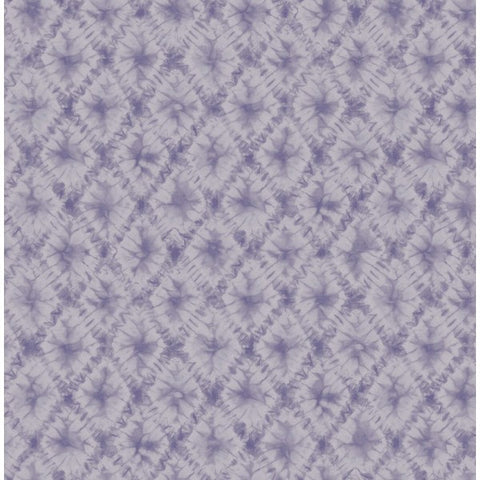 Watercolor Harlequin Wallpaper in Purples from the L'Atelier de Paris collection by Seabrook
