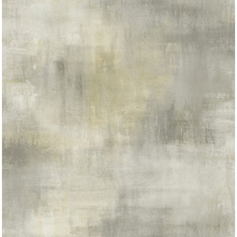 Watercolor Tonal Wallpaper in Greys and Neutrals from the L'Atelier de Paris collection by Seabrook