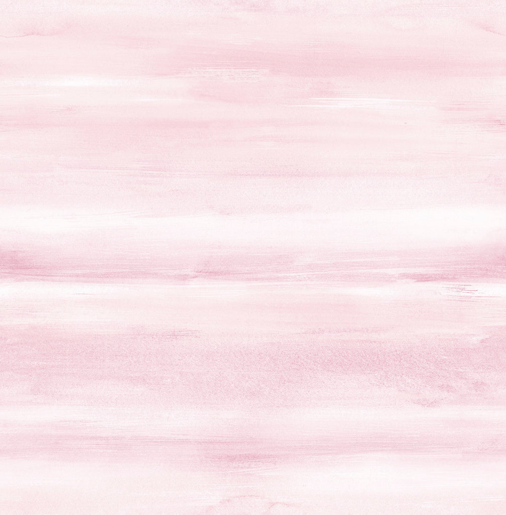 Watercolor Wallpaper in Blush from the Day Dreamers Collection by Seabrook Wallcoverings