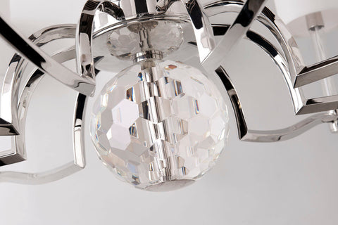 Waterloo 9 Light Chandelier by Hudson Valley Lighting
