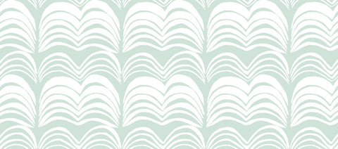 Wavelength Wallpaper in Flossy by Anna Redmond for Abnormals Anonymous