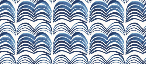 Wavelength Wallpaper in The Seven Seas by Anna Redmond for Abnormals Anonymous