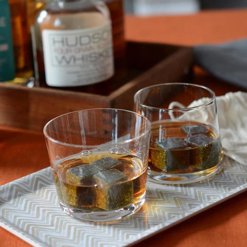 Set of 6 Whisky Stones Beverage Cubes I ♥ WSKY design by Teroforma