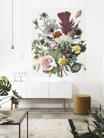 Wild Flowers 016 Wallpaper Panel by KEK Amsterdam