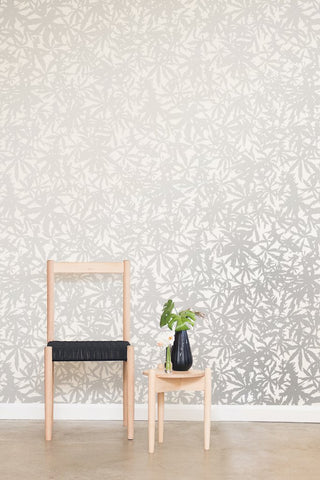 Wild Thing Wallpaper in Diamonds and Pearls on Cream design by Juju