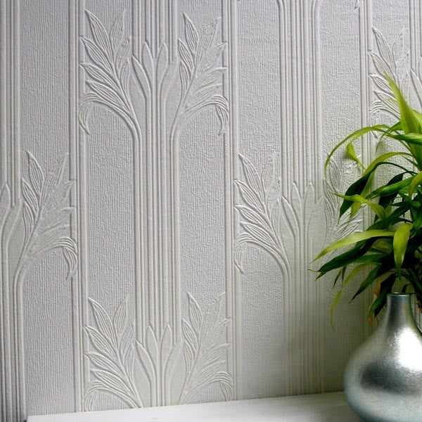 Wildacre Textured Paintable Wallpaper design by Brewster Home Fashions