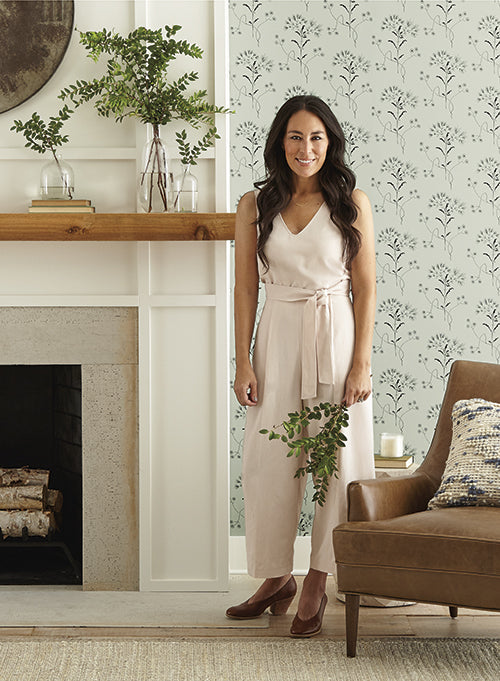 Wildflower Wallpaper from Magnolia Home Vol. 2 by Joanna Gaines