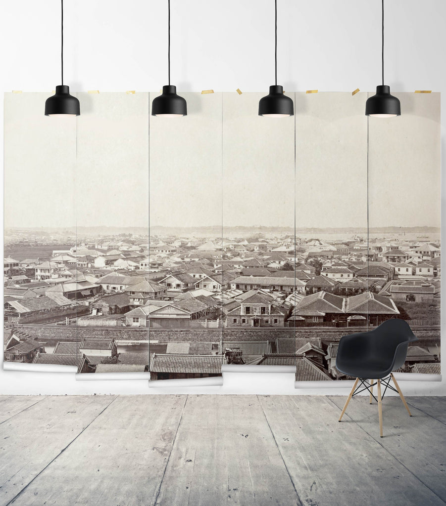 Sample Wilkie & Laufenbee Wall Mural from the Erstwhile Collection by Milton & King