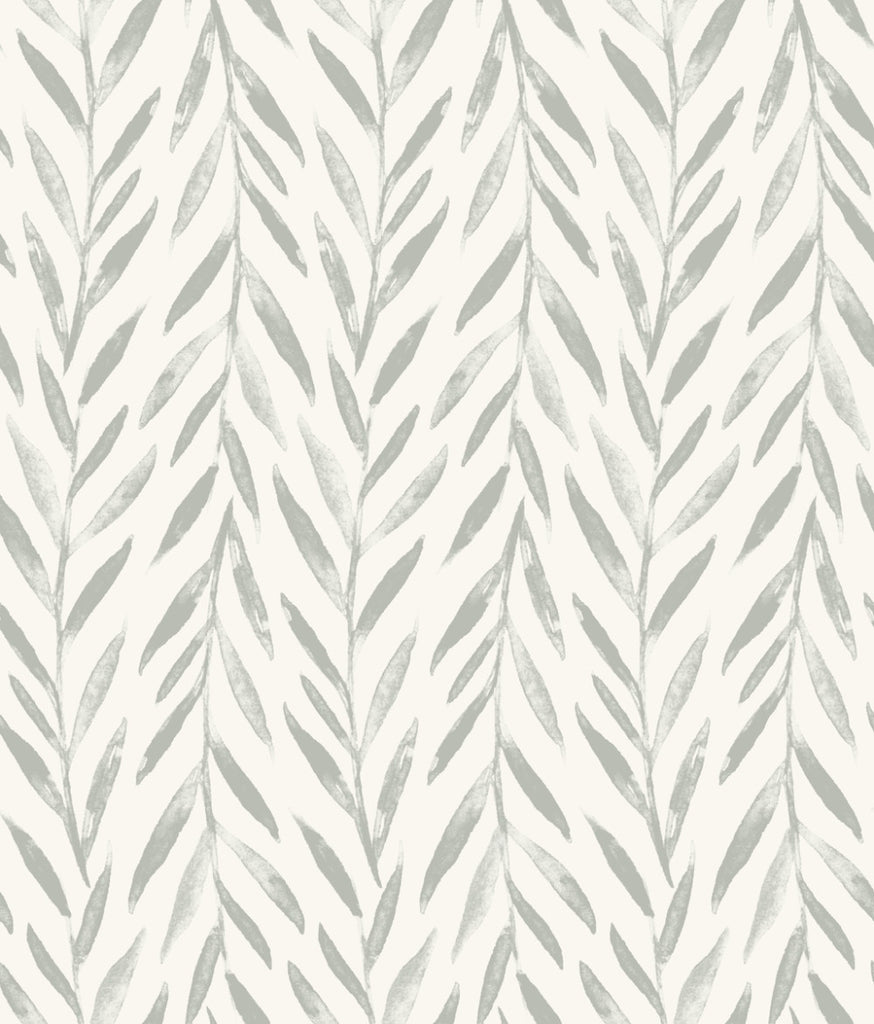 Willow Wallpaper in Grey from the Magnolia Home Vol. 3 Collection by Joanna Gaines
