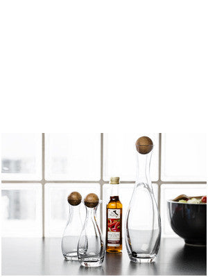 Wine/Water Carafe with Oak Stopper design by Sagaform