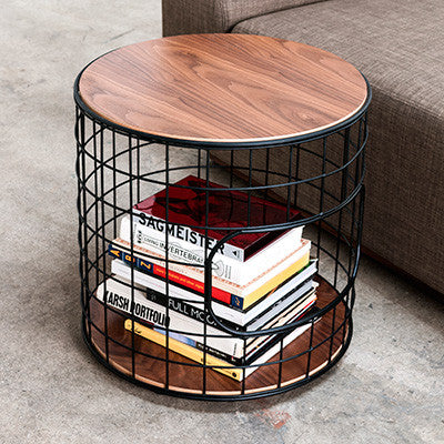 Wireframe End Table design by Gus Modern
