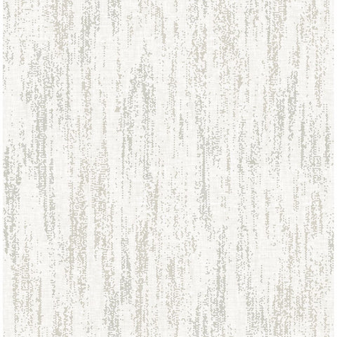 Wisp Texture Wallpaper in Silver from the Celadon Collection by Brewster Home Fashions