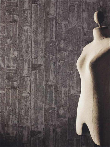 Wood Plank Wallpaper from the Indulgence Collection by Burke Decor