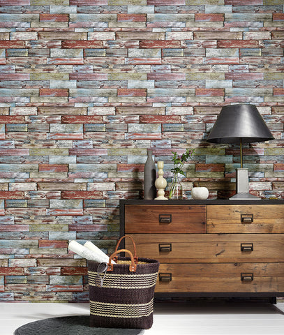Wood Wallpaper design by BD Wall
