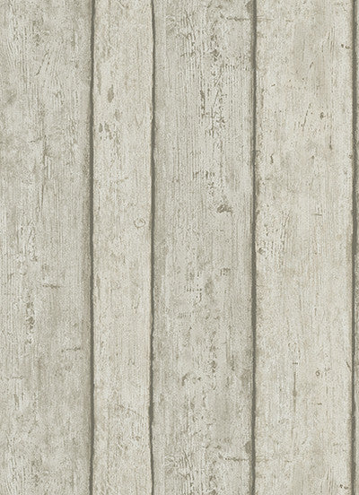 Wood Wallpaper in Grey design by BD Wall