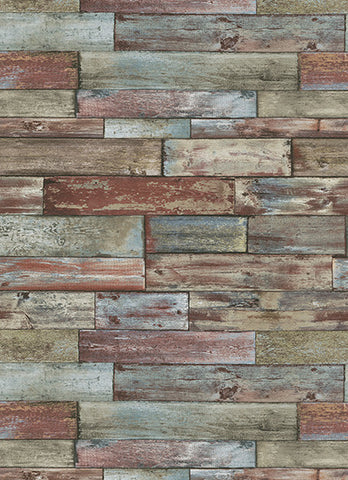 Wood Wallpaper in Multi design by BD Wall