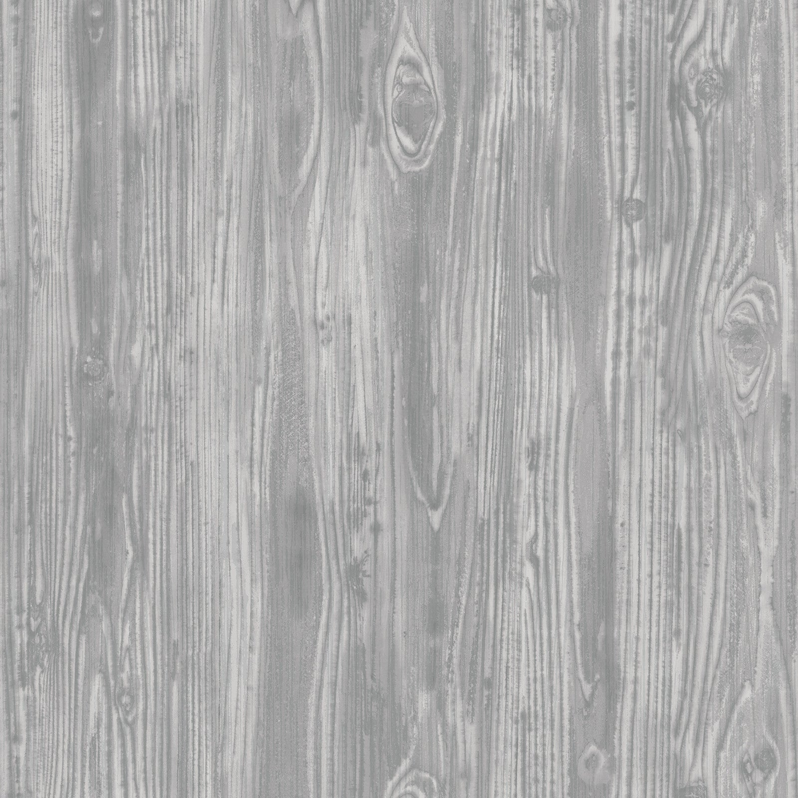 Woodgrain Textured Self Adhesive Wallpaper In Pewter