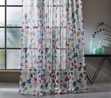 Woodland Fabric from the Enchanted Gardens Collection by Osborne & Little
