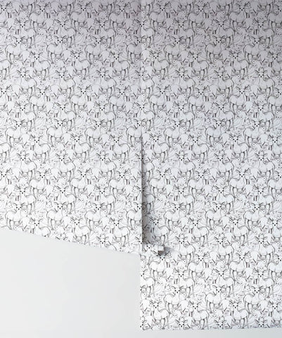 Woodland Wallpaper from the Wallpaper Republic Collection by Milton & King