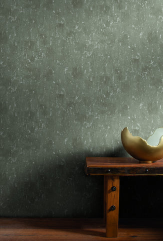 Workroom Wallpaper in Greys and Off-Whites from Industrial Interiors II by Ronald Redding for York Wallcoverings