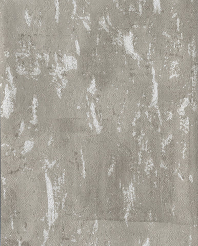 Workroom Wallpaper in Greys and Whites from Industrial Interiors II by Ronald Redding for York Wallcoverings