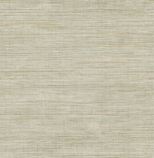 Sample Woven Beige Faux Grasscloth Wallpaper from the Essentials Collection by Brewster Home Fashions