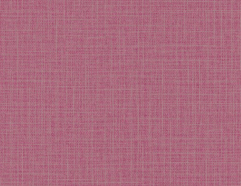 Woven Raffia Wallpaper in Fuchsia from the Texture Gallery Collection by Seabrook Wallcoverings