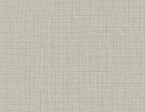 Woven Raffia Wallpaper in Mindful Grey from the Texture Gallery Collection by Seabrook Wallcoverings
