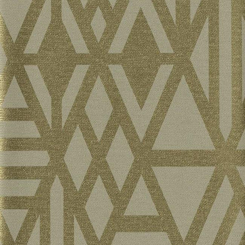 Wrought Iron Wallpaper in Gold from the Moderne Collection by Stacy Garcia for York Wallcoverings