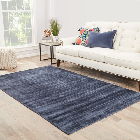 Yasmin Solid Rug in Folkstone Gray design by Jaipur