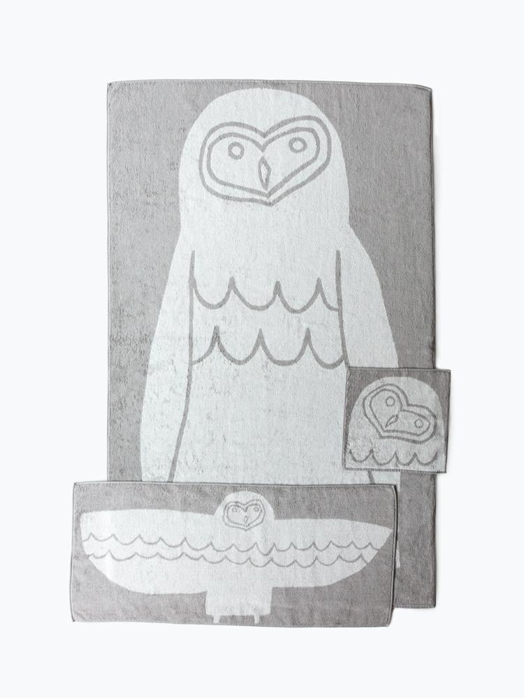 Animal Towel, Owl in Various Sizes