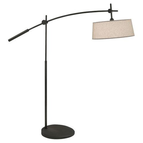 Miles Adjustable Boom Floor Lamp by Rico Espinet for Robert Abbey