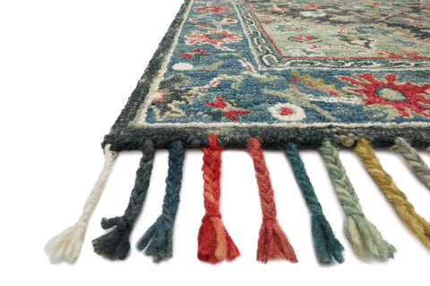 Zharah Rug in Navy & Blue by Loloi