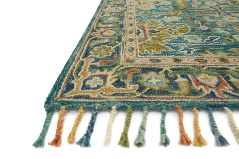 Zharah Rug in Blue & Navy by Loloi
