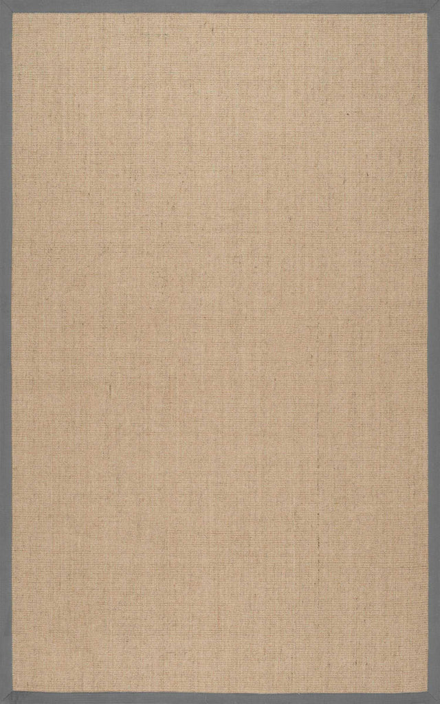 Machine Woven Orsay Sisal Rug in Light Grey design by Nuloom