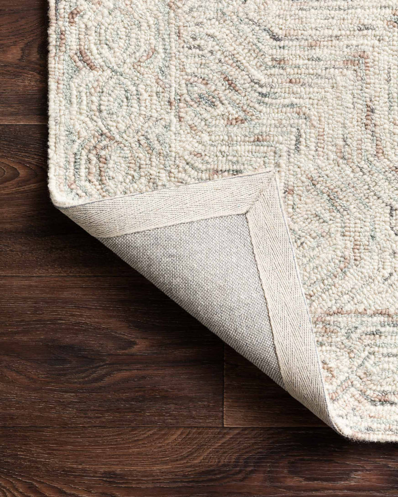 Ziva Rug in Neutral by Loloi