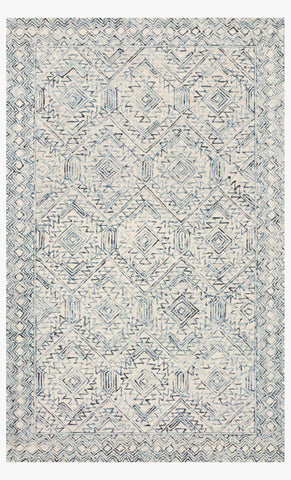 Ziva Rug in Bluestone by Loloi