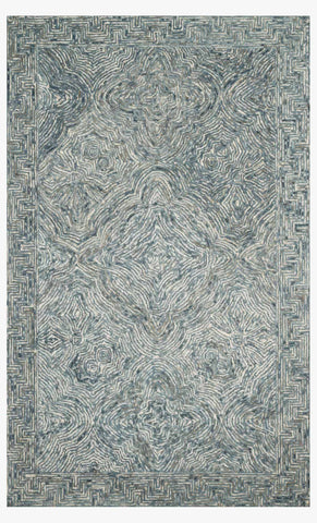Ziva Rug in Denim by Loloi