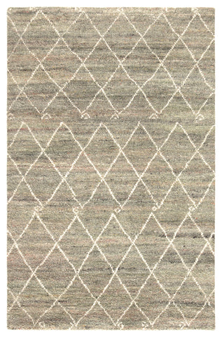 Batten Trellis Rug in Laurel Oak & Egret design by Jaipur Living