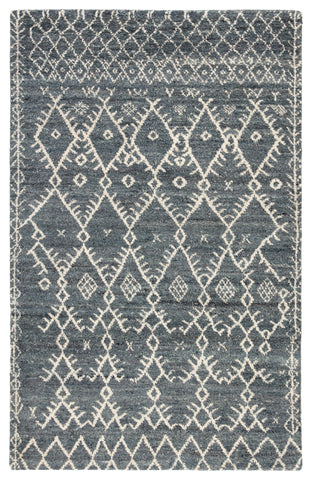 Zola Trellis Rug in Stormy Weather & Turbulence design by Jaipur
