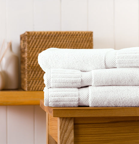 Set of 3 Zenith Bath Towels in Assorted Colors design by Turkish Towel Company
