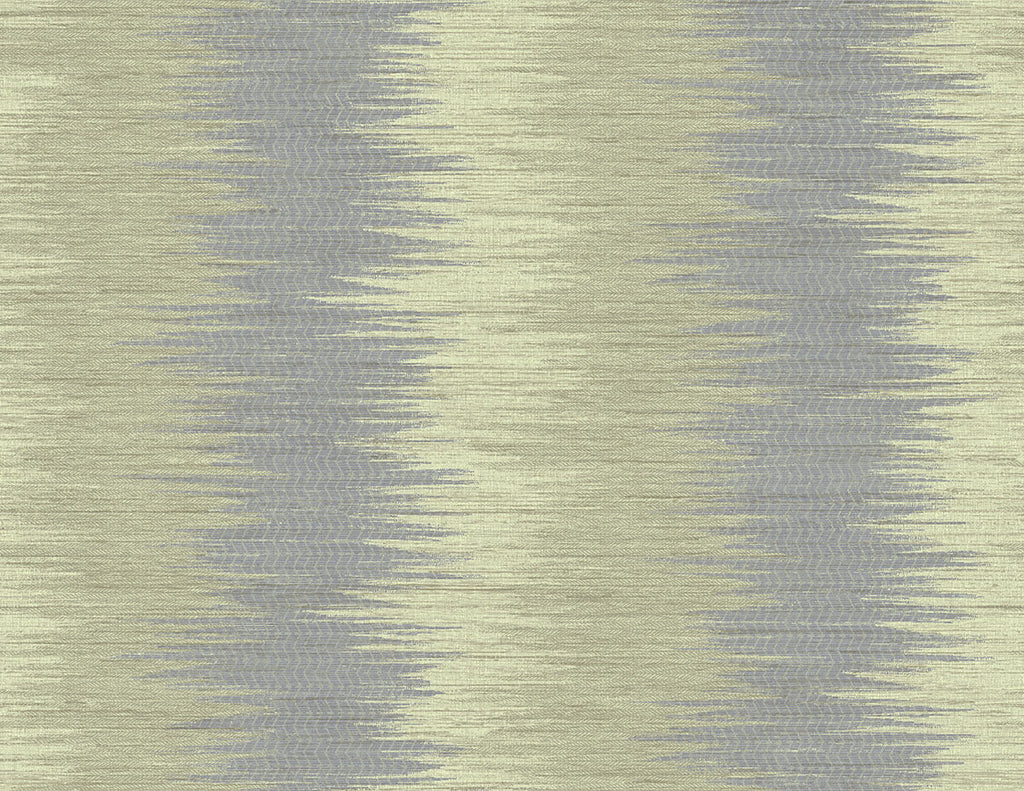 Sample ZigZag Wallpaper in Sunny Violet from the Nouveau Collection by Wallquest